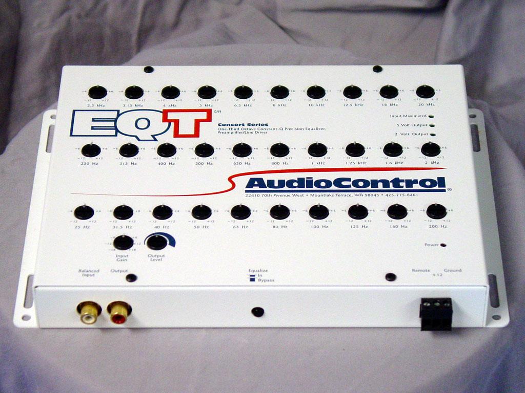 Audiocontrol Eqt 1 3 Octave Mono Equalizers