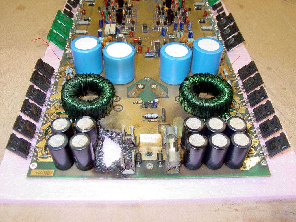 Phoenix Gold Phorum View Topic Ms2250 Repair Burned Board Short Circuit Car Audio Image