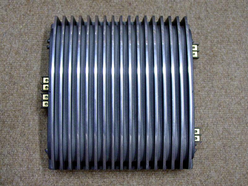 Rockford fosgate custom polished amplifier set for Ecksofa 2 50x2 50