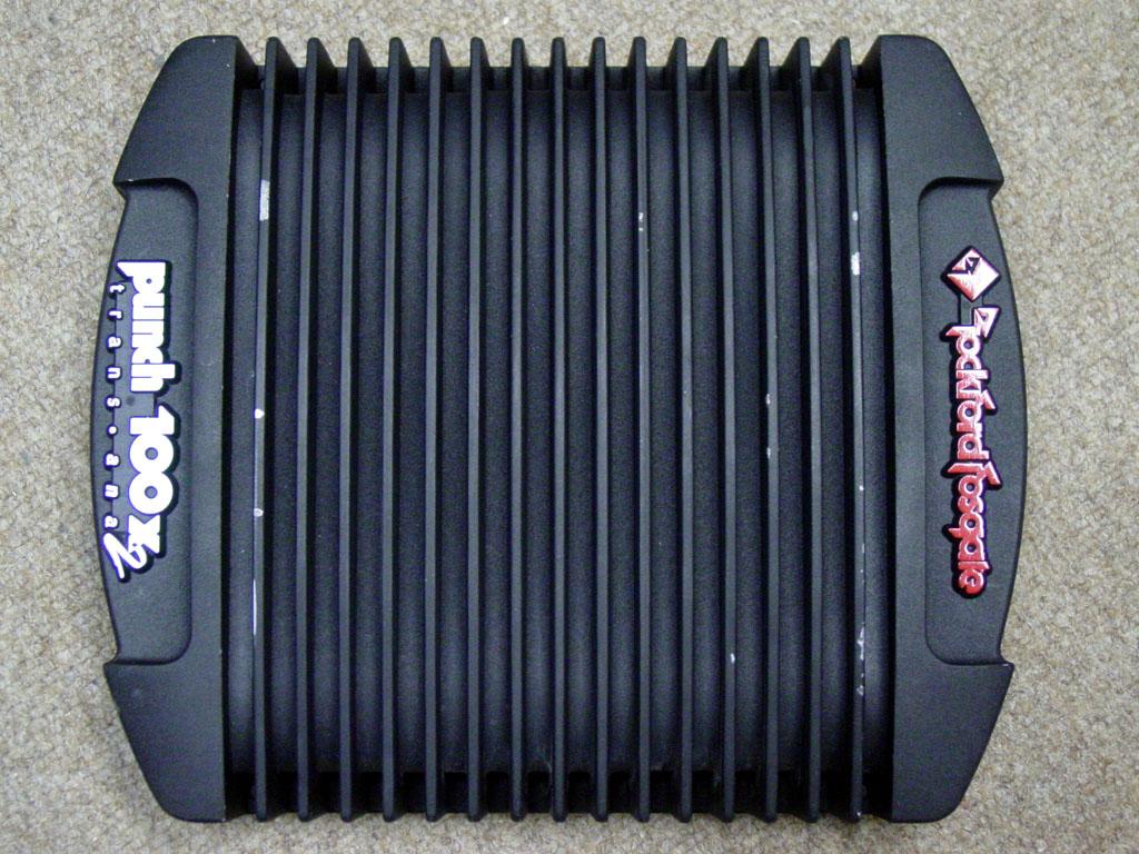 Rockford Fosgate Punch 100x2