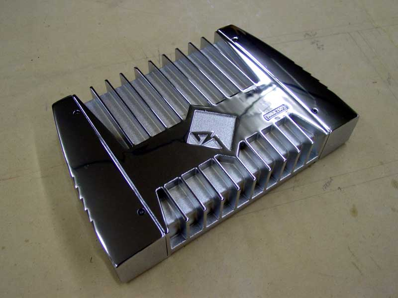 Rockford Fosgate Punch Power 250 2c Chrome Amplifier